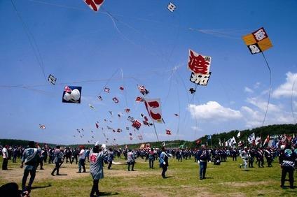 浜松まつり凧揚げ