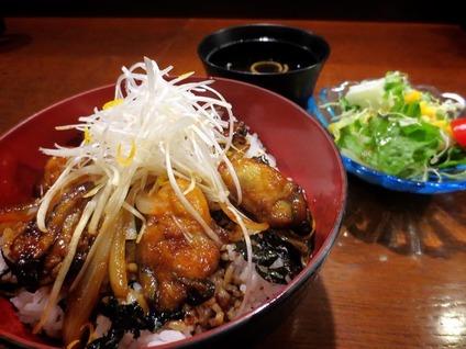 牡蠣カバ丼(サゴー浪漫舘)