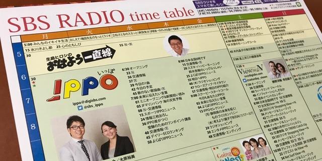 SBSラジオ出演