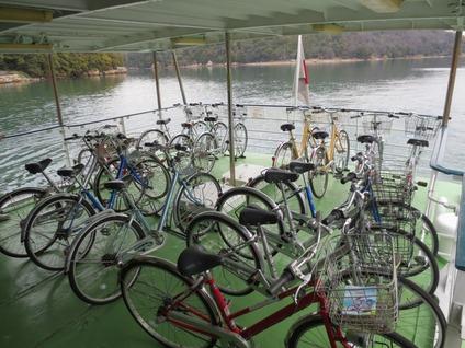 浜名湖遊覧船サイクリング