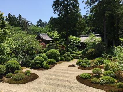 奥浜名湖「龍潭寺」庭園
