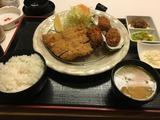 写真3カキフライとヒレカツ定食¥1,700