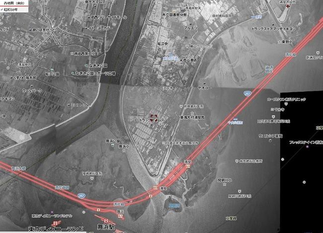 浦安の古地図