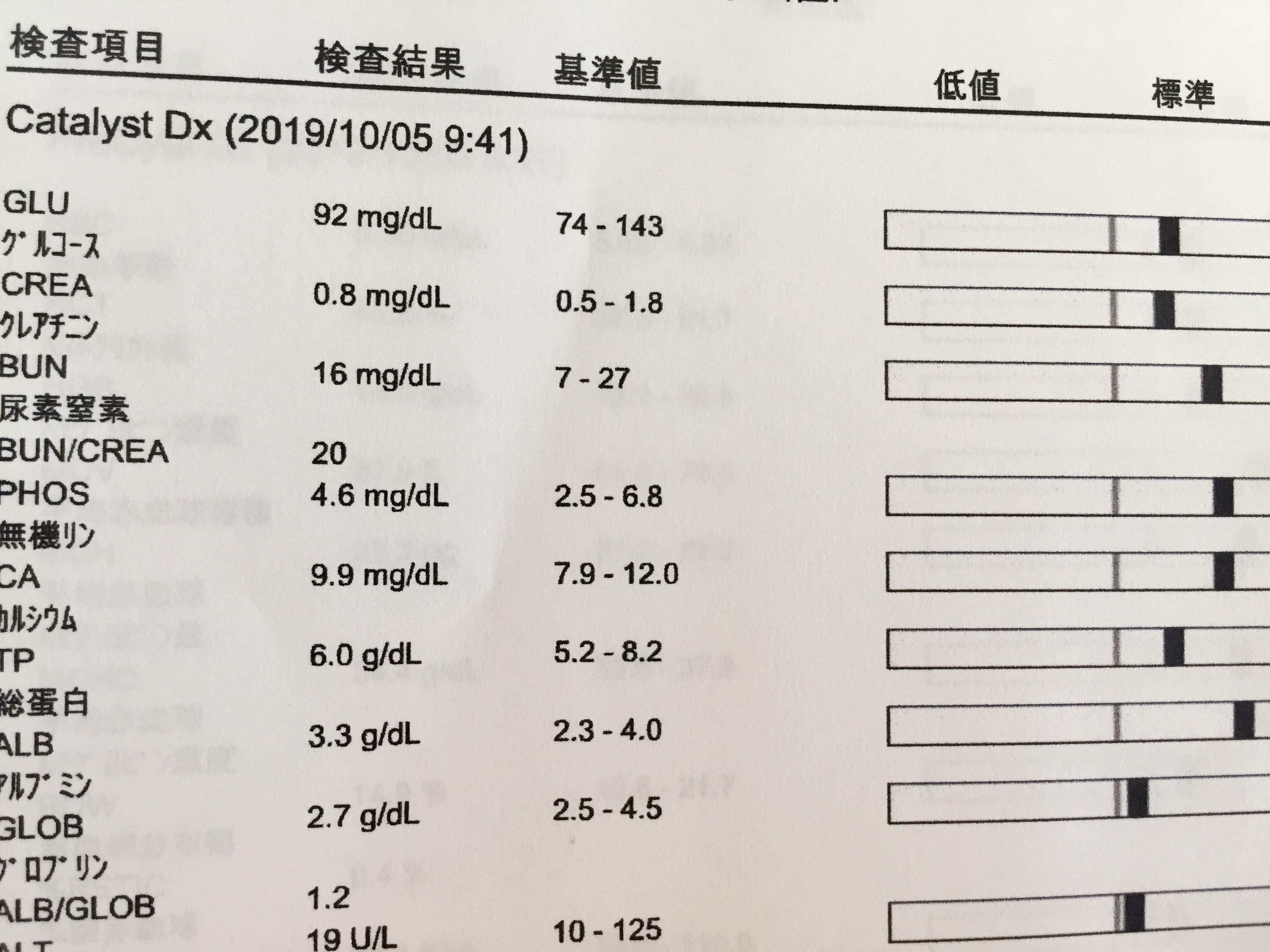 検査 基準 値 尿