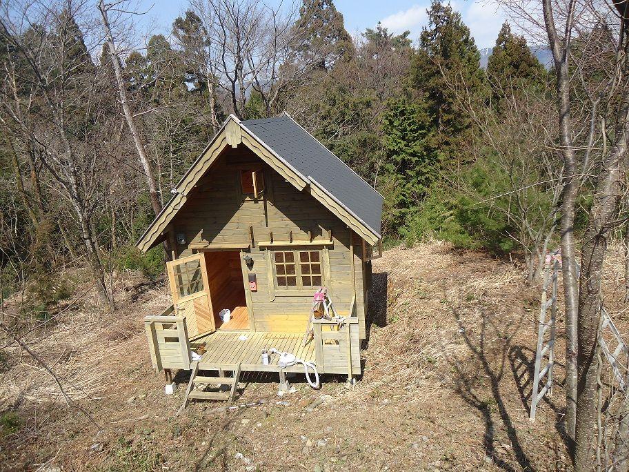 購入 山小屋