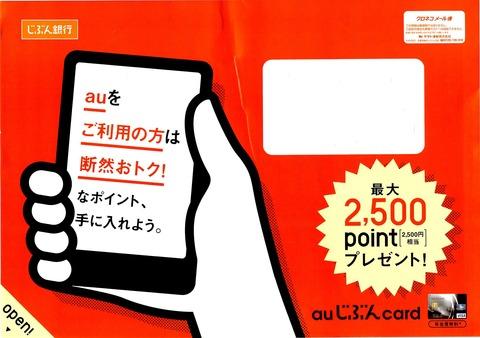 2500ポイント→2500円ゲッツ!!第2段!!