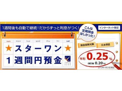 東京スター銀行で500円クオカードゲットの巻き