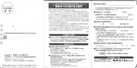 TSUTAYA Tカードが年会費無料の条件が厳しくなる!!