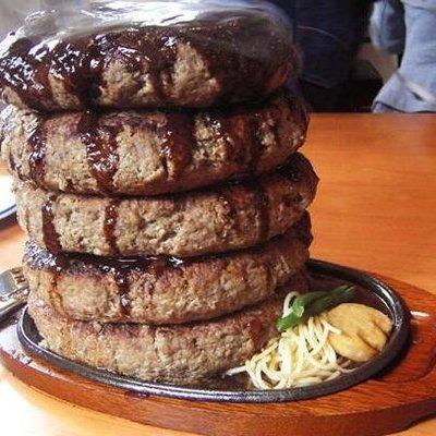 5段ハンバーグ