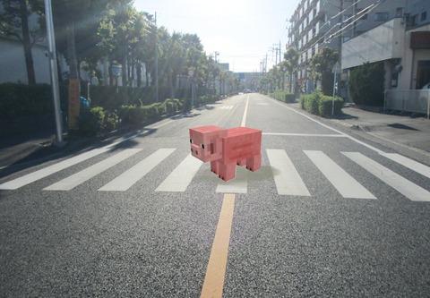 マイクラ歩道