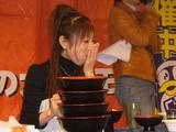 三宅さんの大食いパフォーマンス