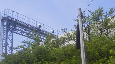 高速道路を監視する N―システム
