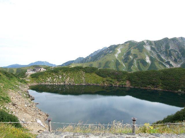 06みくりが池_真砂岳、別山、剣岳