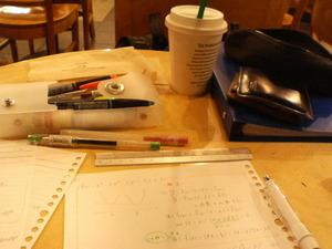 スタバ勉強