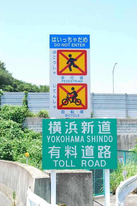 横浜新道川上入口s