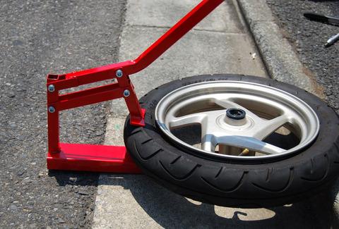 ビードブレーカー使用例