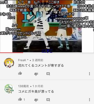 ニコニコ動画コメント欄