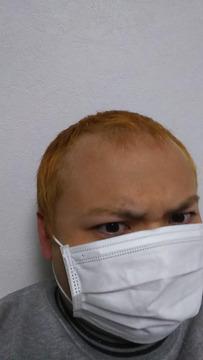 金髪マスク田舎ヤンキー