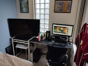 子供部屋おじさんパソコン部屋