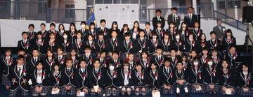 N高校卒業写真