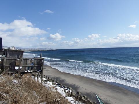 漁業権の石碑の「尻沢辺村」発見! : 函館発 ぼうけんの旅