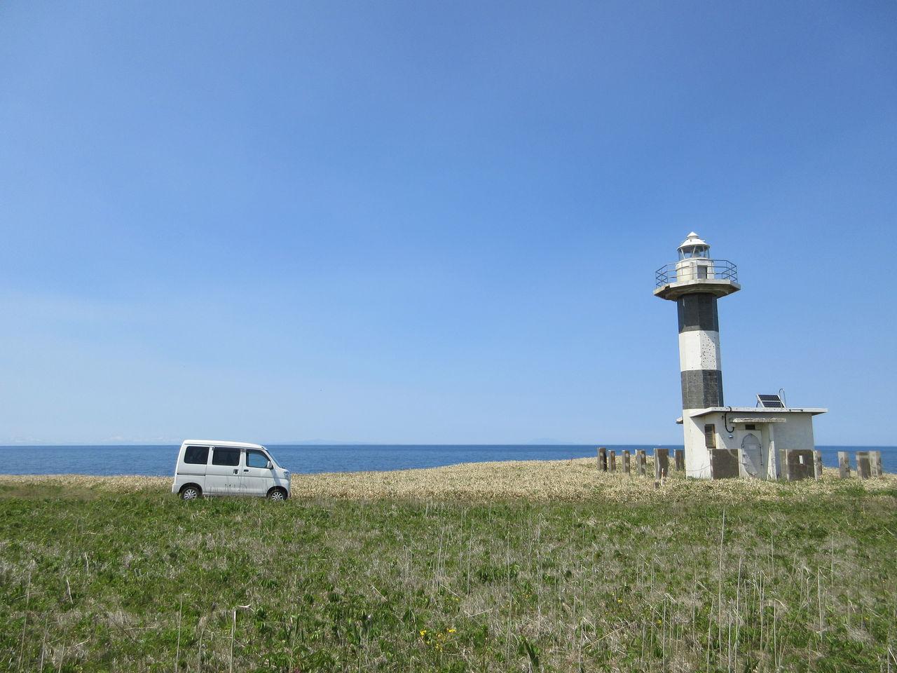 初夏の旅 19 ノッカマップ岬と日...