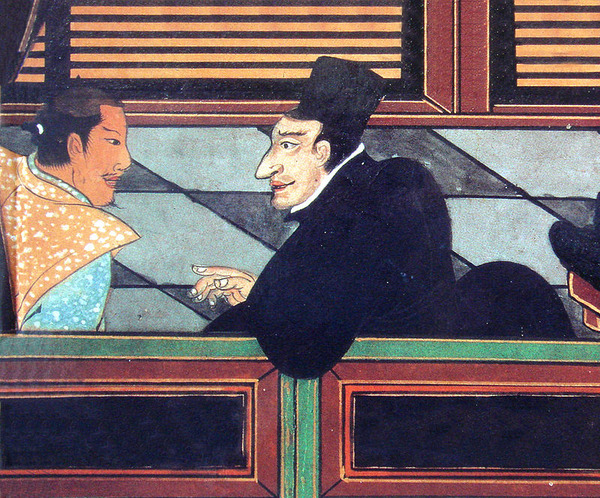 800px-Jesuit_with_Japanese_nobleman_circa_1600