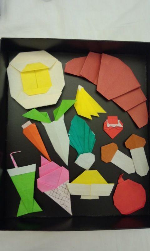 すべての折り紙 折り紙 食べ物 : ... いこと日記:折り紙おままごと
