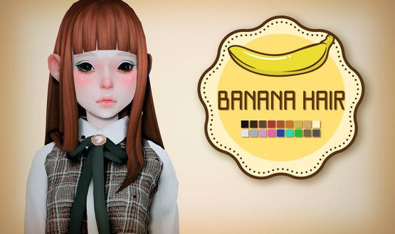 [OPB]banana_hair