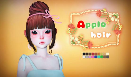[OPB]apple_hair