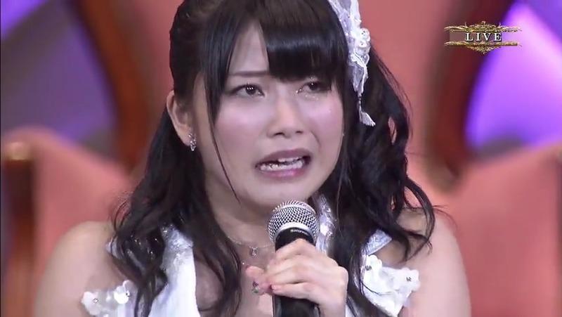 横山由依 総選挙 スピーチ