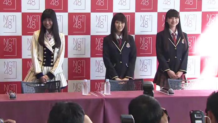 NGT48-記者会見