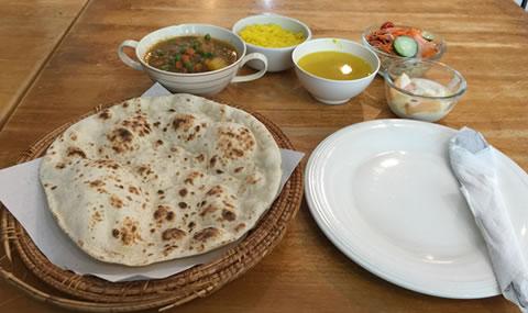 KADインド料理 野菜カレーセット