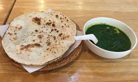 KADインド料理 サグカレー