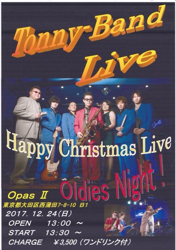 Tony BAnd Live