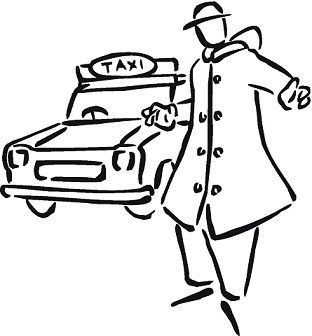 Welcome-to-the-taxi-coloring-page