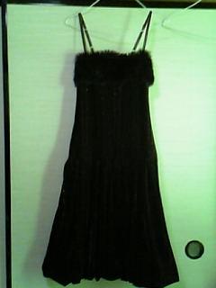 追ぃコンの為に購入したドレス。