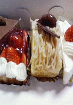 嬉しい日のケーキ。