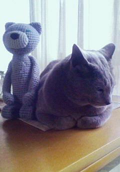 ネコ温度計。