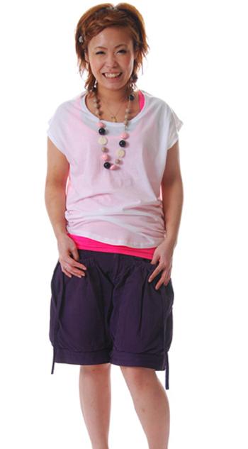 LuccaレディースノースリーブTシャツ通販