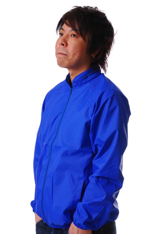 United Athle ナイロンスタンドジャケットフードイン激安通販