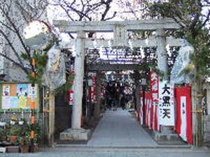 千寿大黒天(本氷川神社)