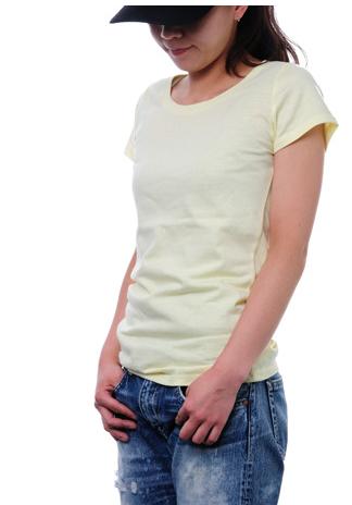 DALUC レディースソフトリブTシャツ通販
