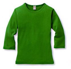 デミームーンフライス七分Tシャツ