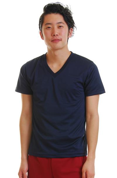 United AthleドライVネックTシャツ