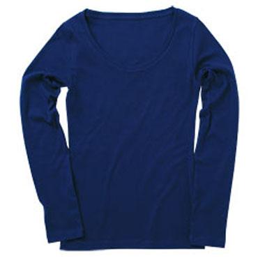 DALUC レディース ソフトリブ長袖Tシャツ(DL019)