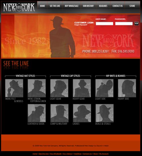 NEW YORK HAT通販