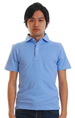 maximumホリゾンカラーポロシャツ