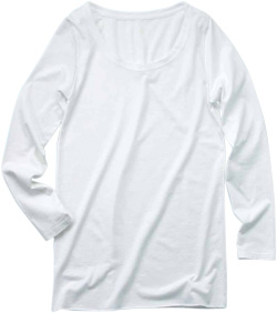 DALUCレディースロングスリーブTシャツ激安通販卸