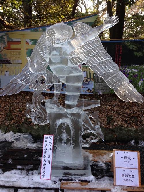 氷の彫刻展2